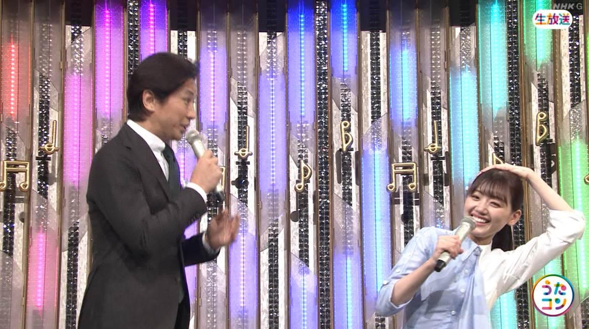 NHK総合生放送でスベっても動じない強心臓!日向坂46佐々木美玲、谷原章介さんからボケかたを学ぶ【うたコン】